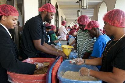 Saint Leo University Community Service Day