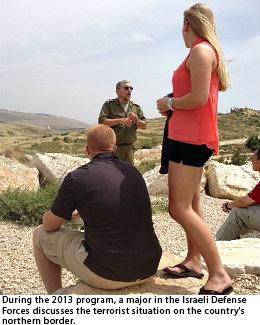Saint-Leo-University-criminal-justice-course-in-Israel