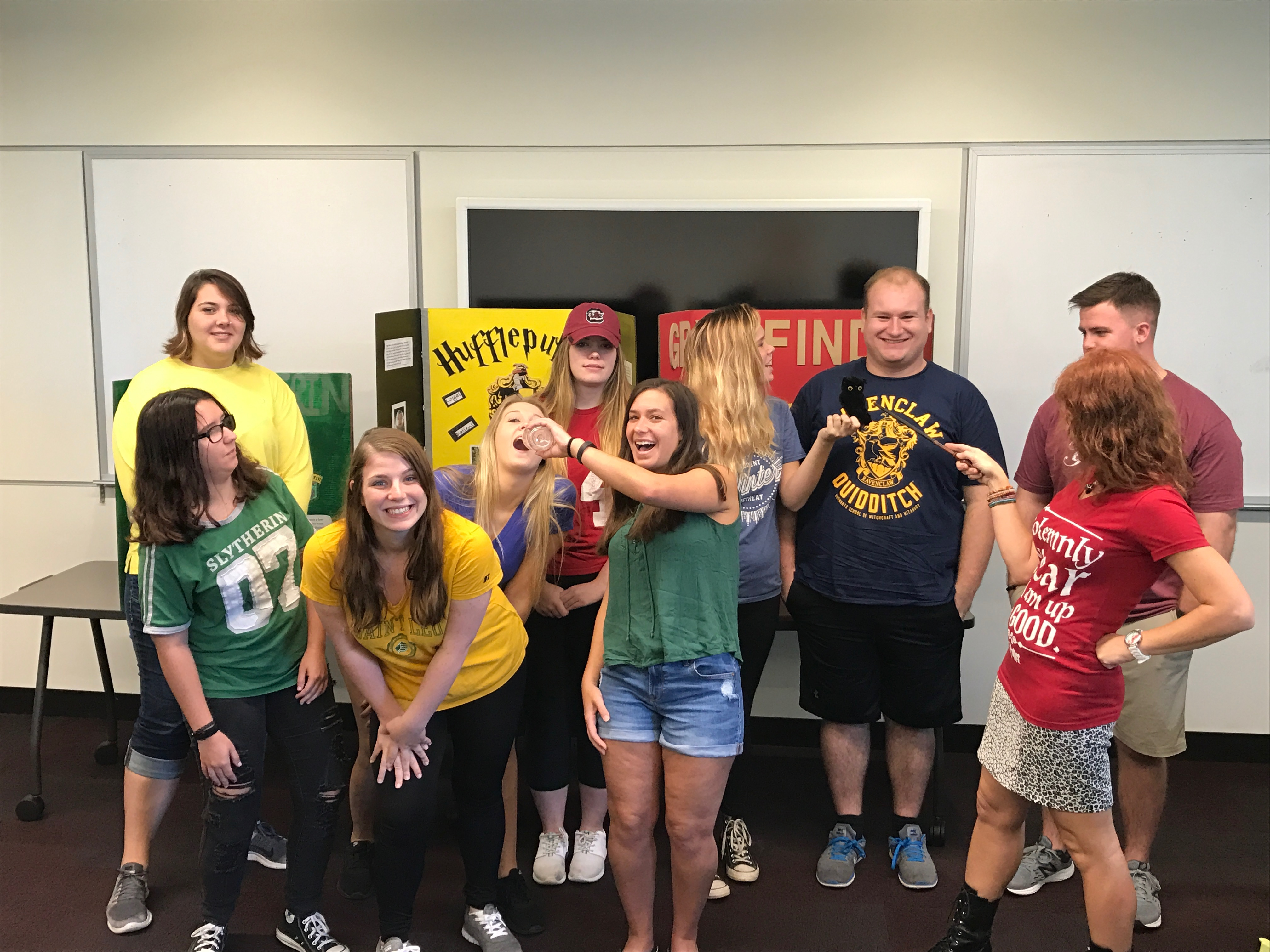 A look inside The World of Harry Potter class at Saint Leo University