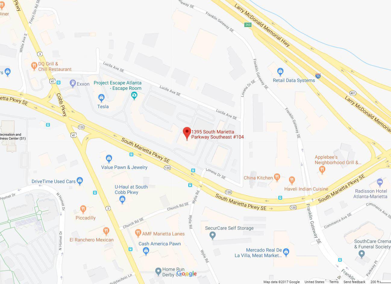 Saint Leo University's Marietta, GA Education Center on the map
