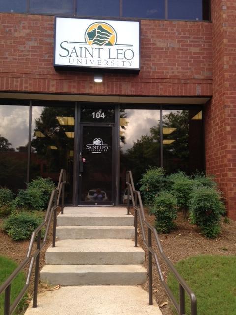 The exterior of Saint Leo University's Marietta, GA Education Center
