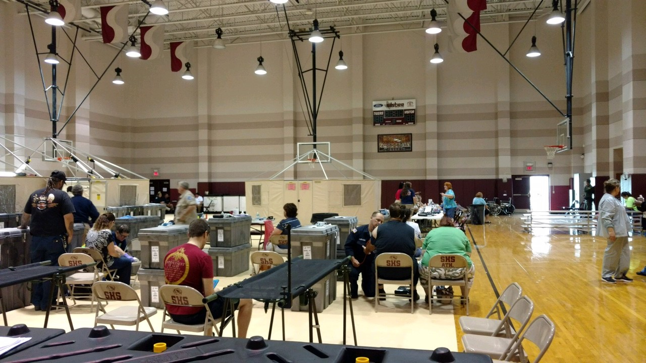 Disaster relief - Harvey base of operations.jpg